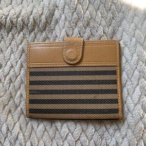 vintage Fendi card wallet